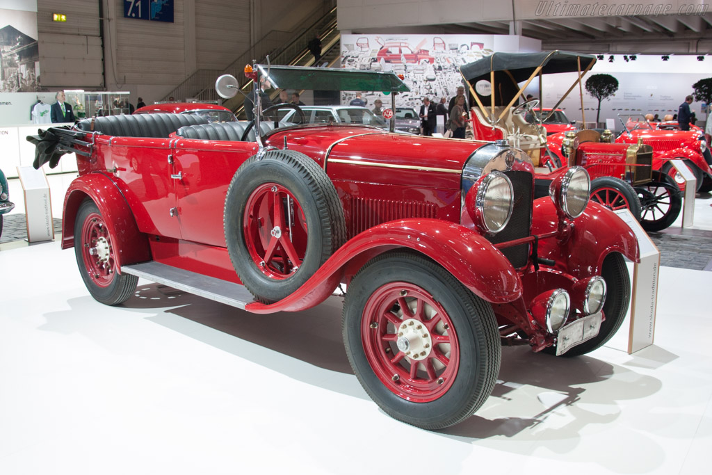 Laurin & Klement Typ S    - 2014 Techno Classica