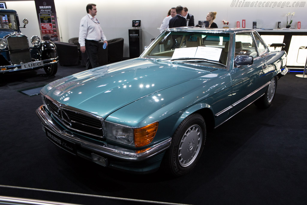 Mercedes-Benz 560 SL    - 2014 Techno Classica