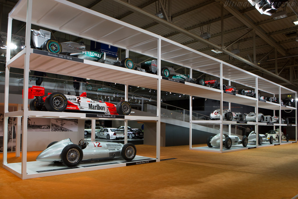 Mercedes-Benz Grand Prix cars    - 2014 Techno Classica