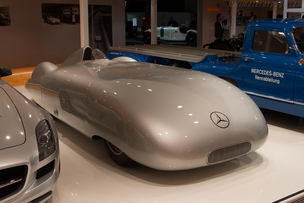 Mercedes-Benz W25 Streamliner    - 2014 Techno Classica