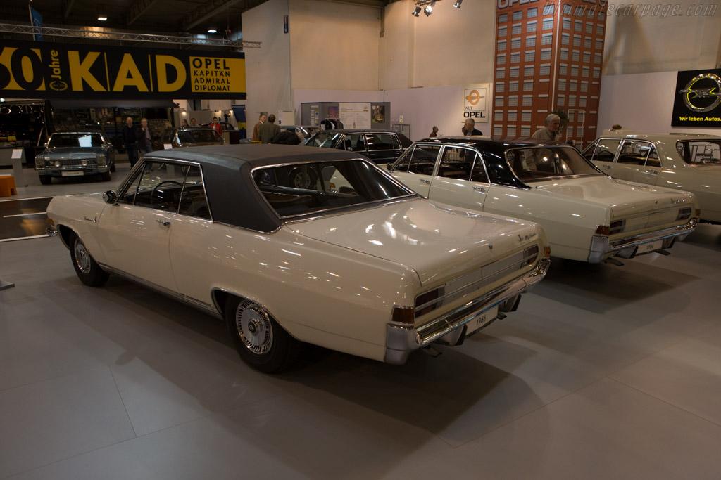 Opel Diplomat A V8    - 2014 Techno Classica