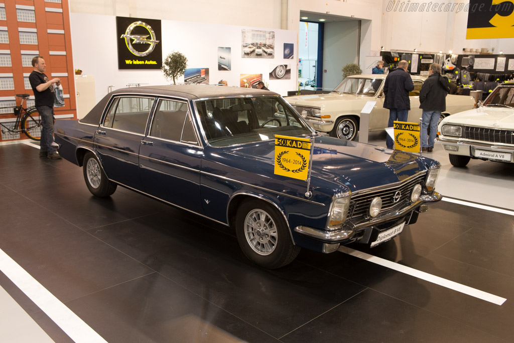 Opel Diplomat B V8    - 2014 Techno Classica