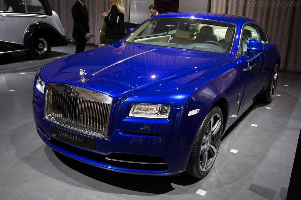 Rolls-Royce Wraith    - 2014 Techno Classica