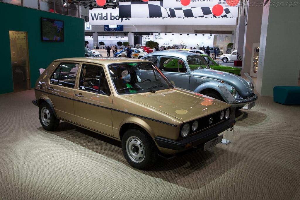 Volkswagen Golf   - 2014 Techno Classica