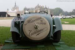 Maserati V4 Sport Zagato Spider