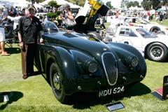 Jaguar XK120 Jabbeke Special