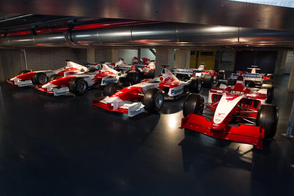 Toyota TF101    - Toyota Motorsport visit