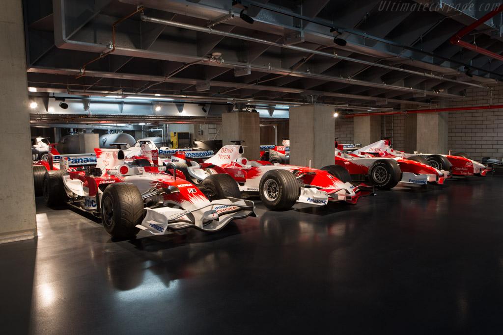 Toyota TF108 - Chassis: TF108-02   - Toyota Motorsport visit