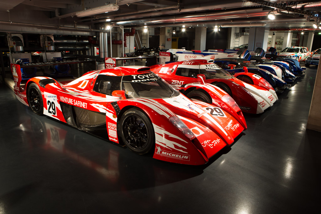 Toyota TS020 GT-One - Chassis: LM802   - Toyota Motorsport visit