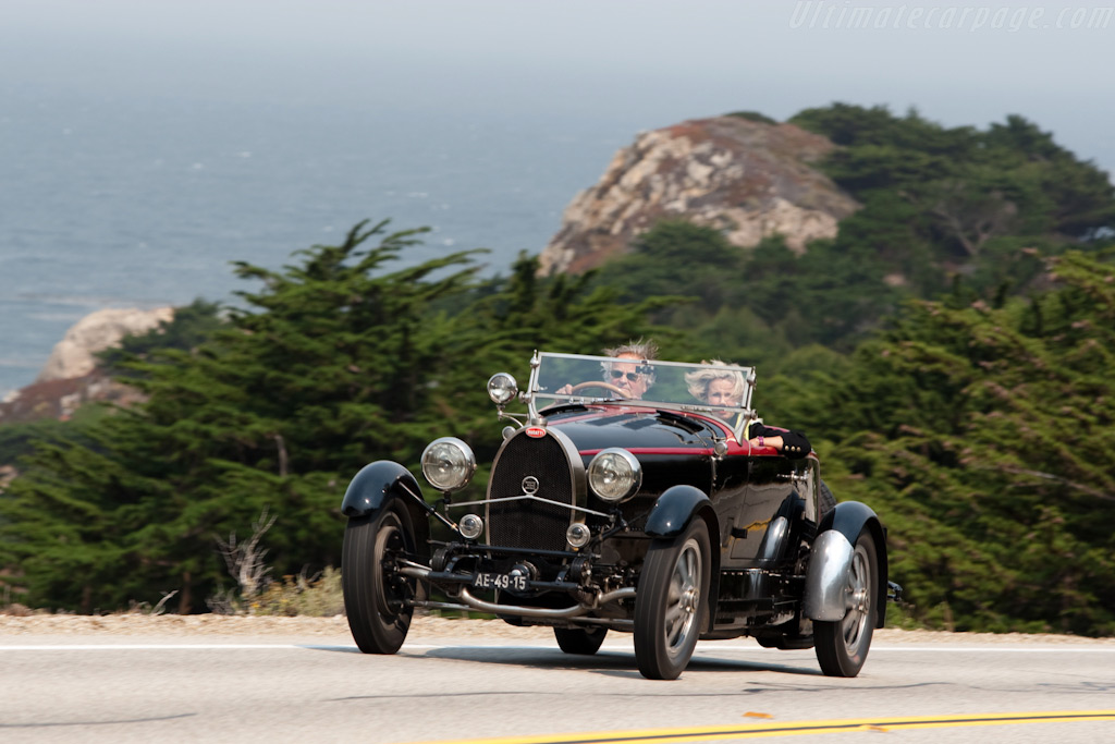 Bugatti Type 43A Roadster    - 2009 Pebble Beach Concours d'Elegance
