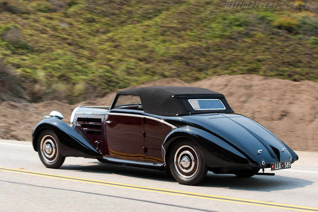 Bugatti Type 57 d'Ieteren Cabriolet - Chassis: 57589   - 2009 Pebble Beach Concours d'Elegance