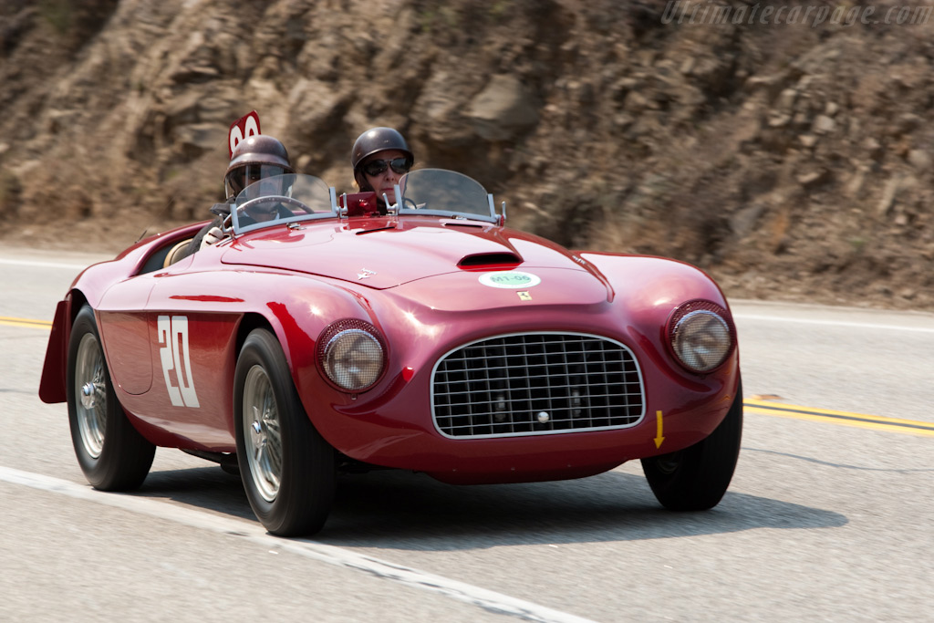 Ferrari 166 MM Barchetta - Chassis: 0010M   - 2009 Pebble Beach Concours d'Elegance