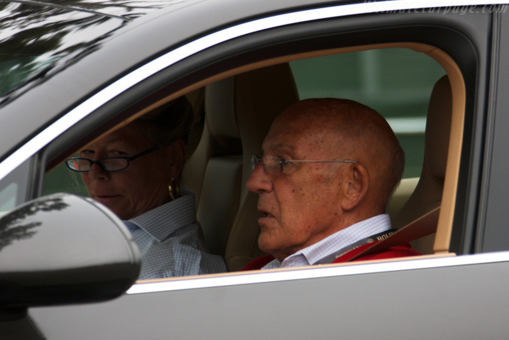 Sir Stirling Moss in a Panamera    - 2009 Pebble Beach Concours d'Elegance