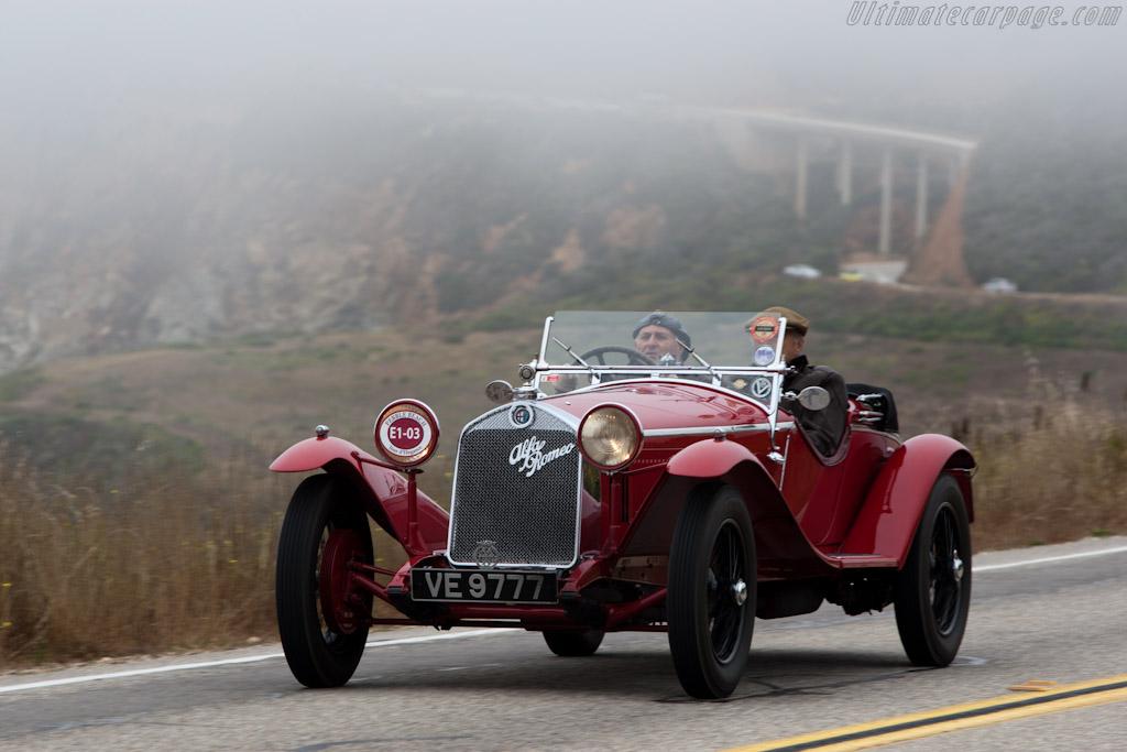 Alfa Romeo 6C 1750 SS Zagato Spider - Chassis: 0312884 - Entrant: The Hon. Sir Michael Kadoorie  - 2010 Pebble Beach Concours d'Elegance