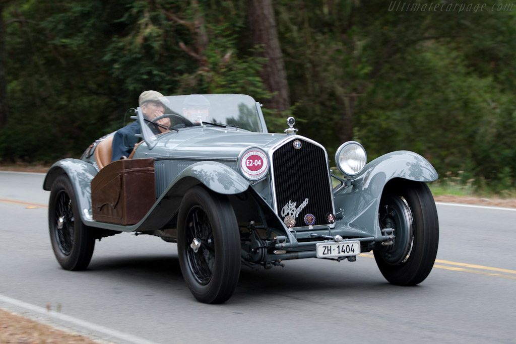 Alfa Romeo 8C 2300 Touring Spider - Chassis: 2211096   - 2010 Pebble Beach Concours d'Elegance