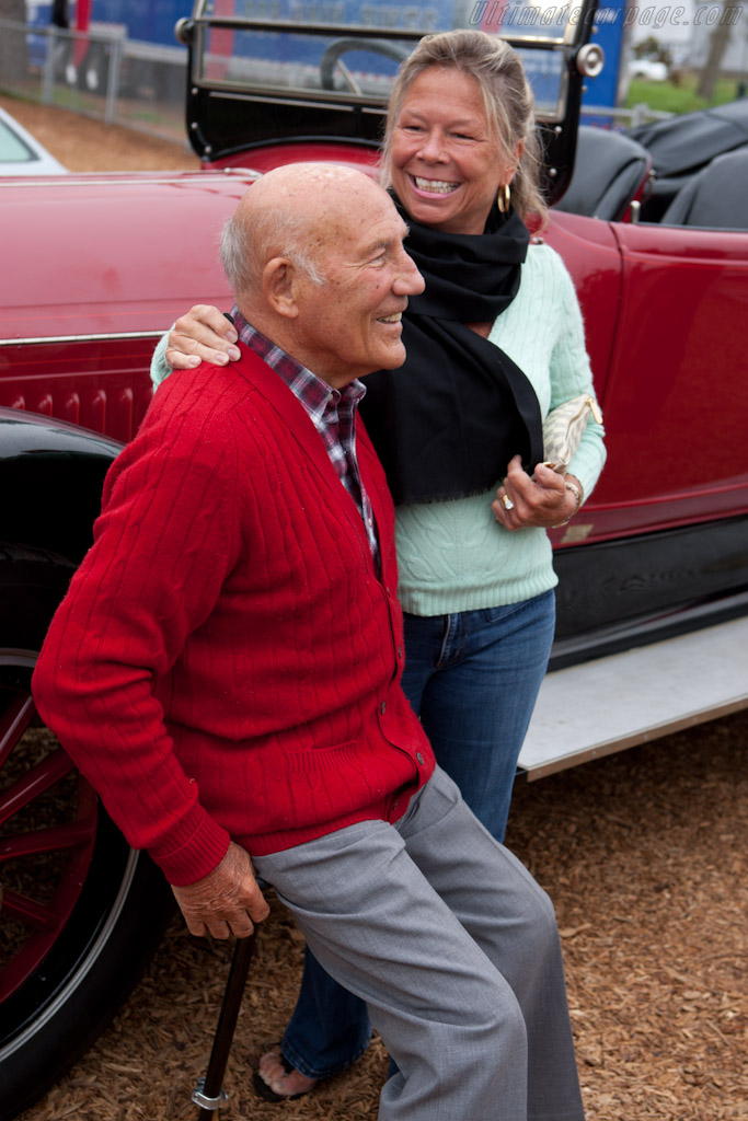Sir Stirling and Lady Susy Moss    - 2010 Pebble Beach Concours d'Elegance