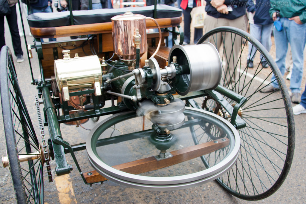 Benz Patent Motor Wagen Replica running    - 2011 Pebble Beach Concours d'Elegance