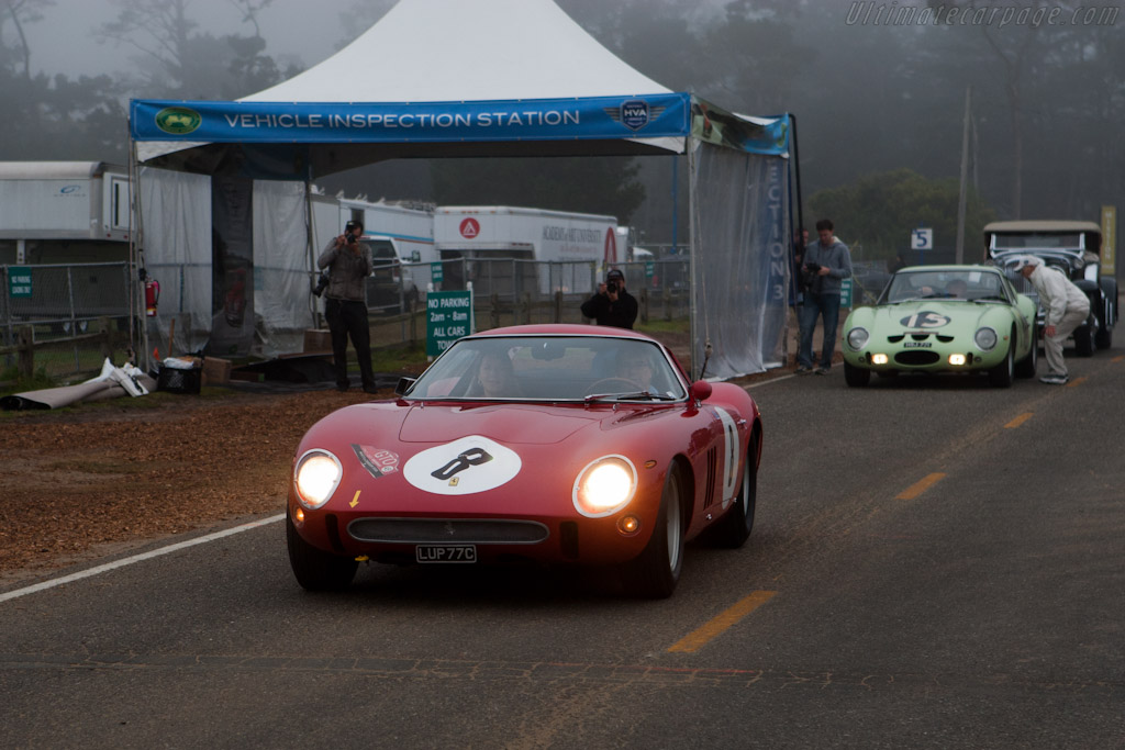 Lining up for the Tour    - 2011 Pebble Beach Concours d'Elegance