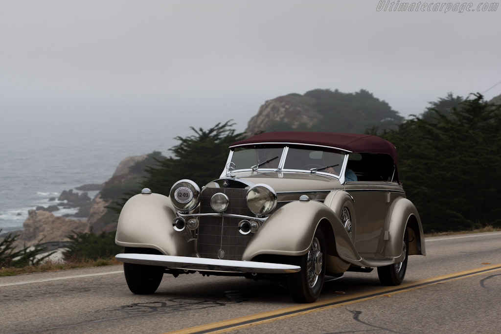 Mercedes-Benz 540 K Sports Tourer    - 2011 Pebble Beach Concours d'Elegance