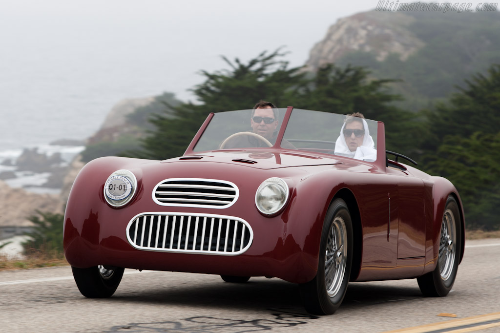 Plate Special Roadster    - 2011 Pebble Beach Concours d'Elegance