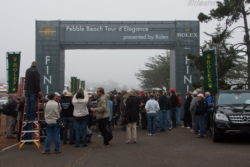Welcome at the Tour d'Elegance    - 2011 Pebble Beach Concours d'Elegance
