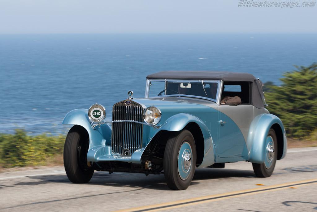 Delage D8 SS Figoni Cabriolet    - 2012 Pebble Beach Concours d'Elegance