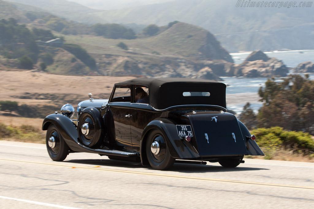 Hispano Suiza J12 Saoutchik Cabriolet    - 2012 Pebble Beach Concours d'Elegance