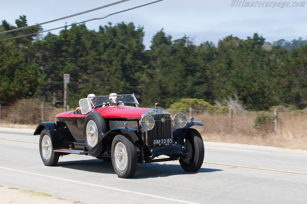 Isotta Fraschini Tipo 8A S Corsica Boattail Speedster    - 2012 Pebble Beach Concours d'Elegance
