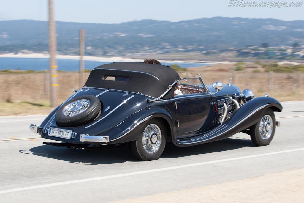 Mercedes-Benz 500K Spezial Cabriolet - Chassis: 130859   - 2012 Pebble Beach Concours d'Elegance