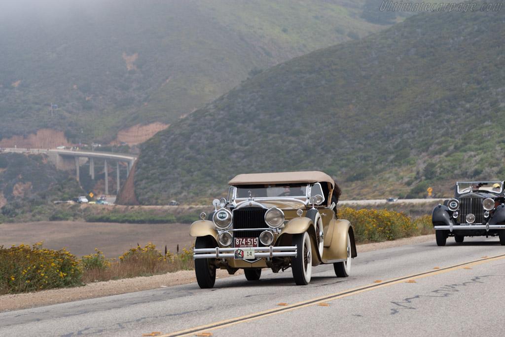 Packard 1100 Eight 4 Door Sedan    - 2012 Pebble Beach Concours d'Elegance