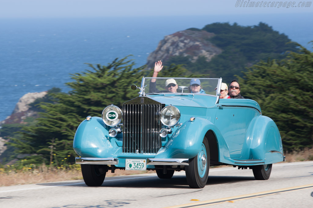 Rolls-Royce Phantom III Thrupp & Maberly DHC    - 2012 Pebble Beach Concours d'Elegance