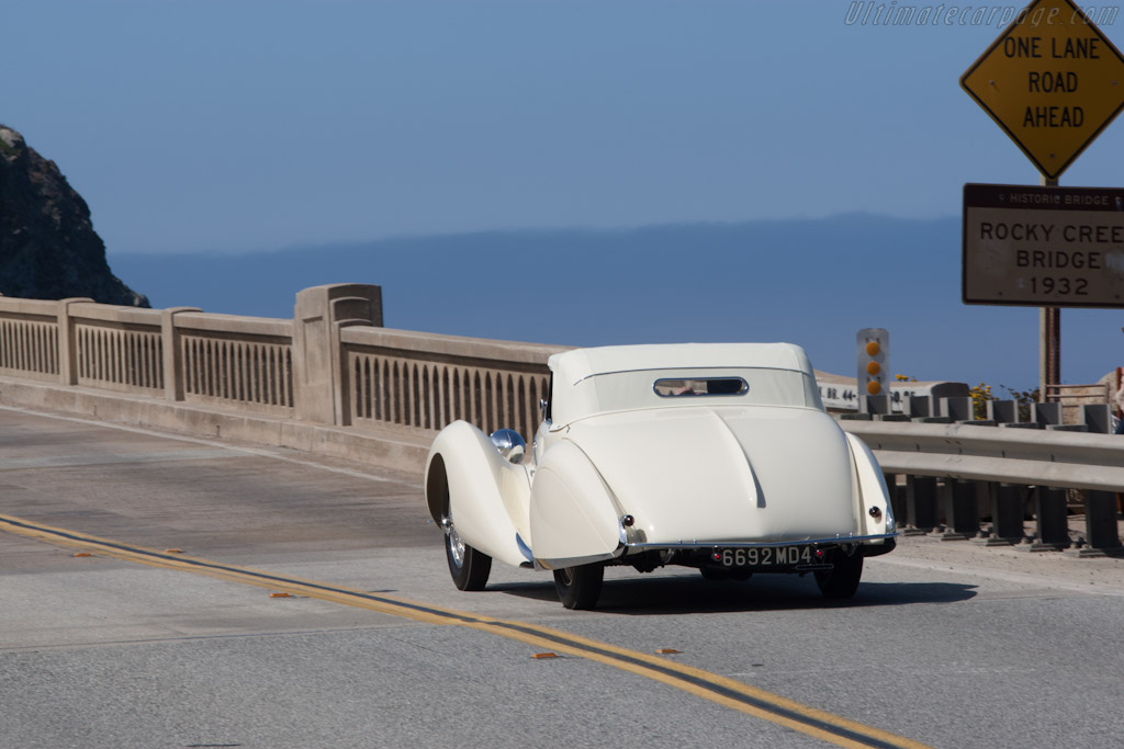 Talbot Lago T150 C SS Figoni & Falaschi Cabriolet - Chassis: 90111   - 2012 Pebble Beach Concours d'Elegance