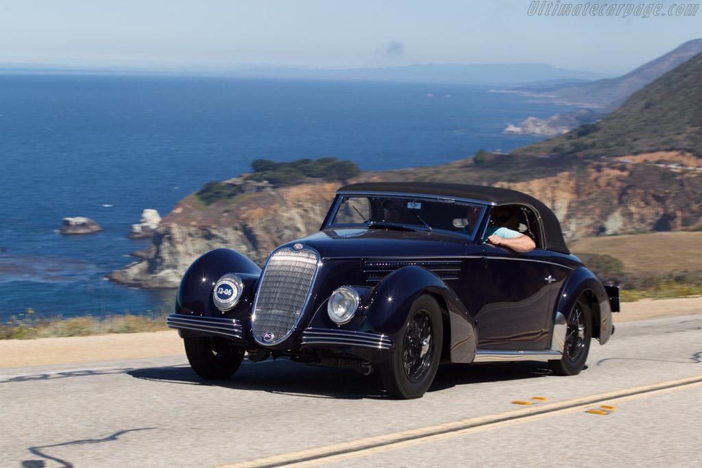 Alfa Romeo 6C 2500 SS Graber Cabriolet  - Entrant: Dennis & Kathy Varni  - 2013 Pebble Beach Concours d'Elegance