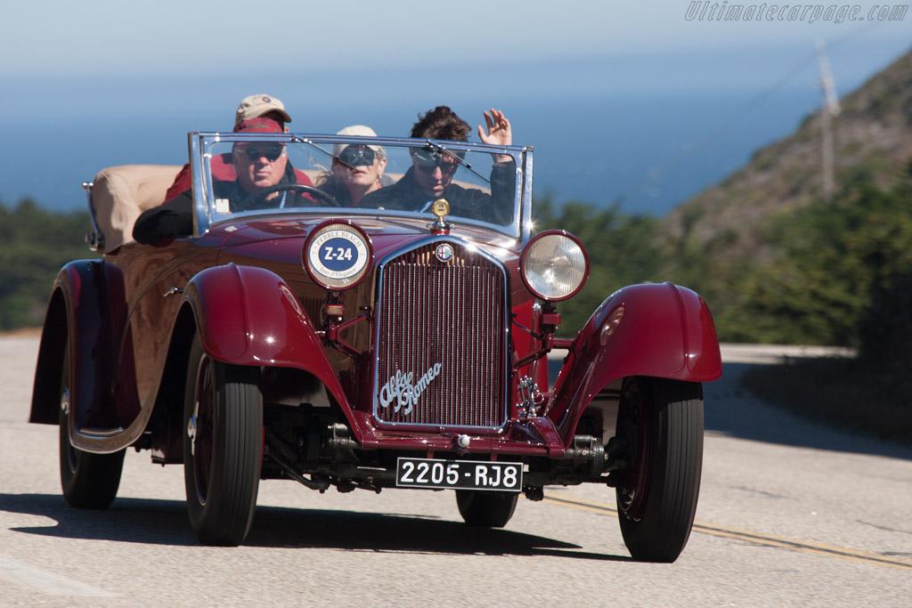 Alfa Romeo 8C 2300 Figoni Cabriolet - Chassis: 2311239 - Entrant: Patrick Ottis  - 2013 Pebble Beach Concours d'Elegance