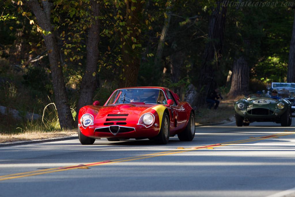 Alfa Romeo TZ2 - Chassis: AR750117 - Entrant: David & Ginny Sydorick - 2013 Pebble Beach Concours d'Elegance