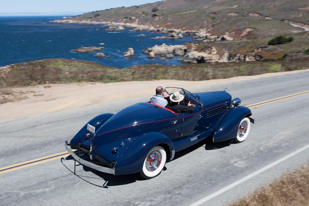 Auburn 852 SC Speedster  - Entrant: Paul & Cheryl Petrovich  - 2013 Pebble Beach Concours d'Elegance
