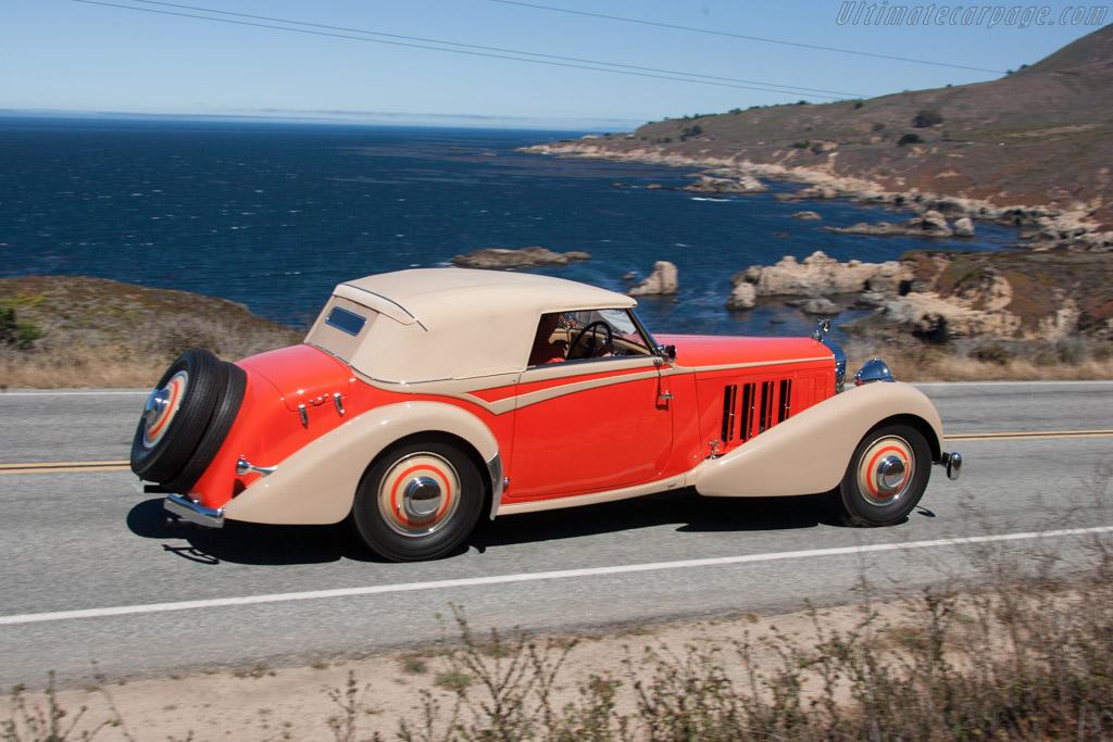 Hispano Suiza J12 Vanvooren Cabriolet  - Entrant: Robert M. Lee  - 2013 Pebble Beach Concours d'Elegance