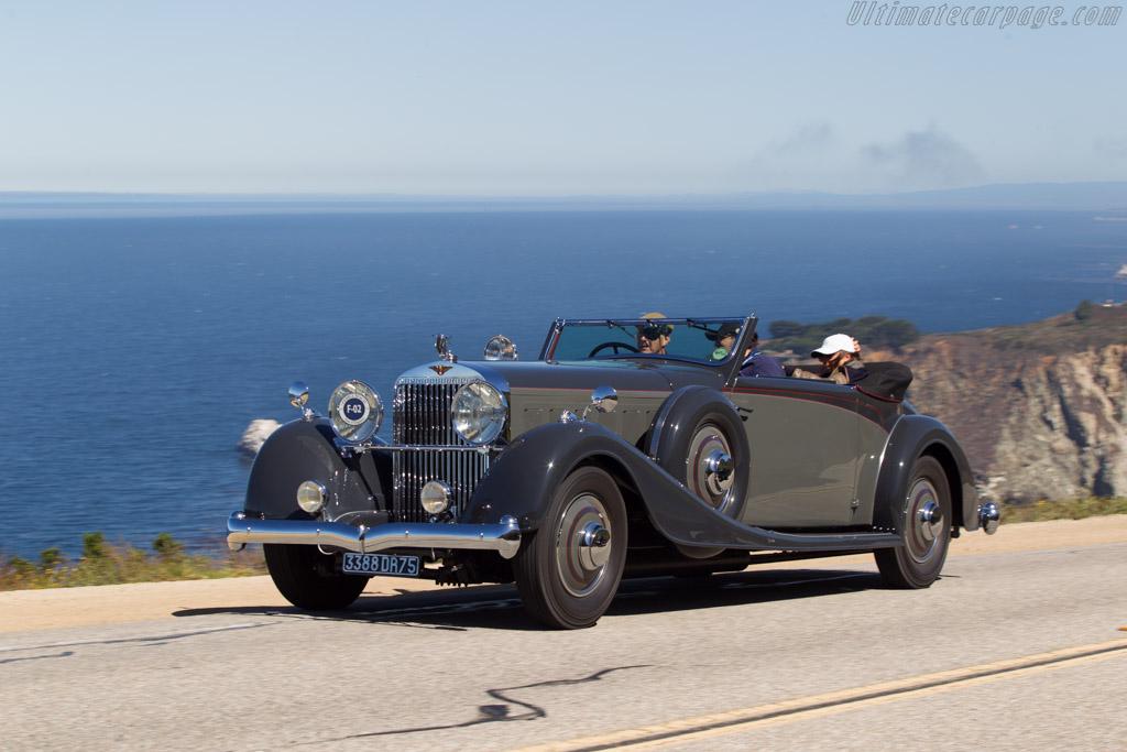 Hispano Suiza J12 Vanvooren Coupe  - Entrant: The Hon. Sir Michael Kadoorie  - 2013 Pebble Beach Concours d'Elegance