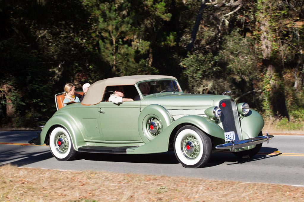 Lincoln K Twelve LeBaron Convertible Coupe  - Entrant: Chuck & Amy Spielman  - 2013 Pebble Beach Concours d'Elegance