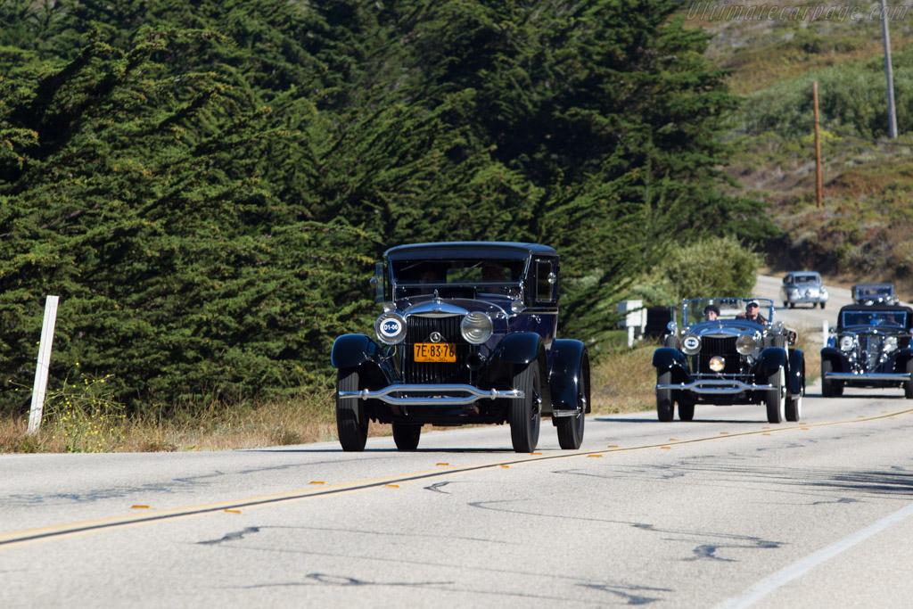 Lincoln L 170 Judkins Coupe  - Entrant: David W. Schultz  - 2013 Pebble Beach Concours d'Elegance