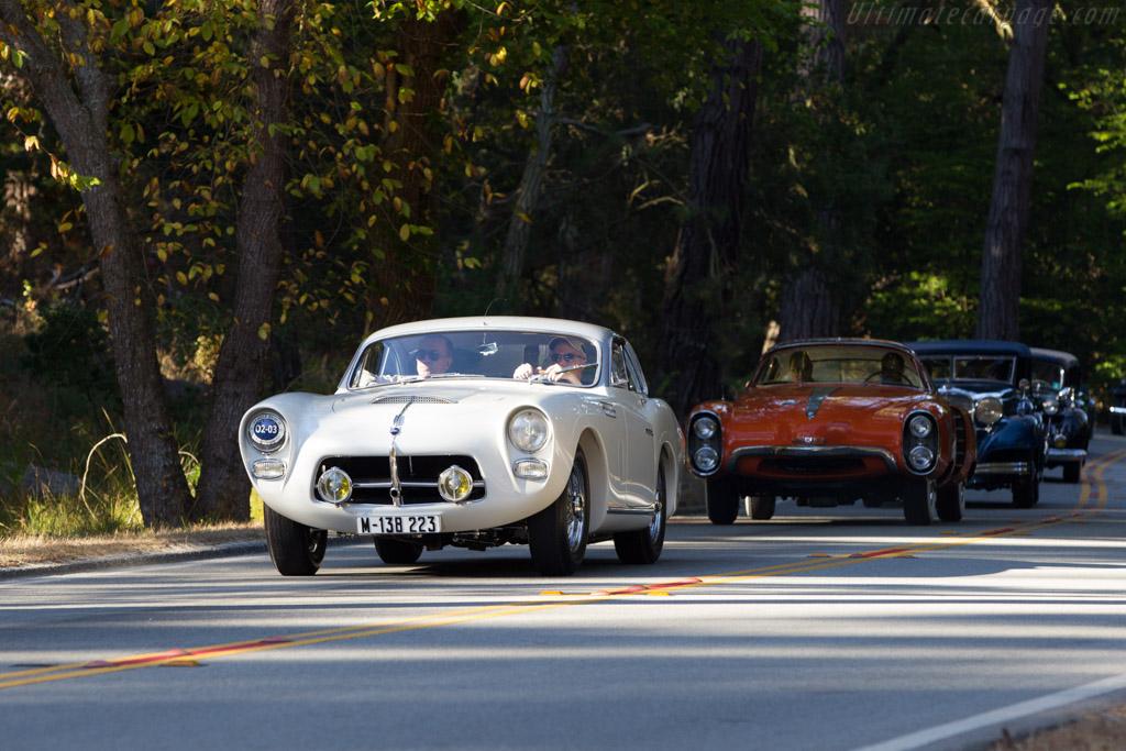 Pegaso Z102 Saoutchik Coupe - Chassis: 0102.150.0148 - Entrant: Jim Patterson  - 2013 Pebble Beach Concours d'Elegance