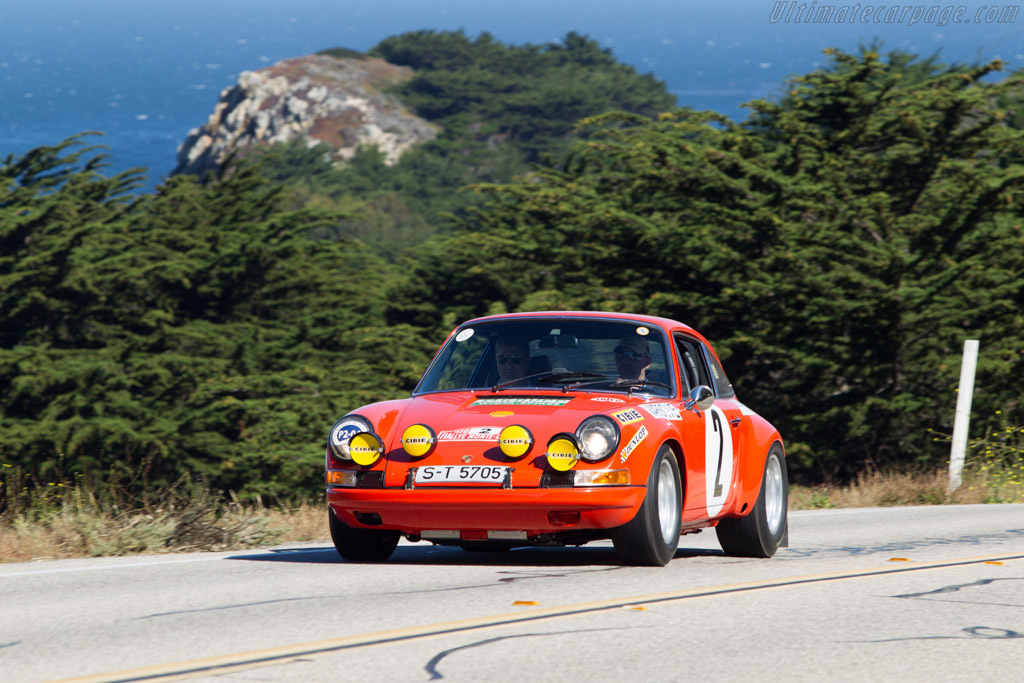 Porsche 911 S Monte Carlo - Chassis: 911 030 0002 - Entrant: Peter W. Kitchak  - 2013 Pebble Beach Concours d'Elegance