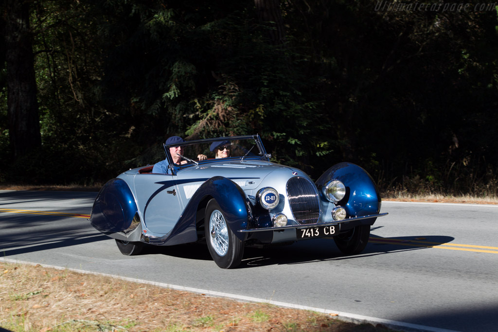Talbot Lago T150C SS Figoni & Falasch Cabriolet - Chassis: 90115 - Entrant: Tom Price  - 2013 Pebble Beach Concours d'Elegance