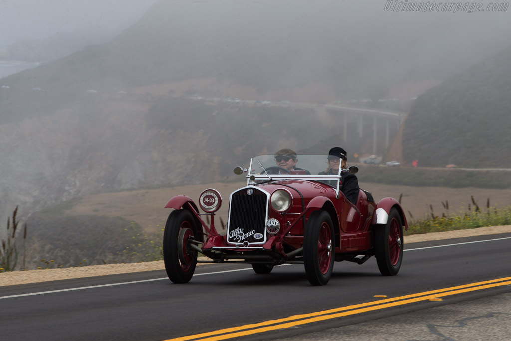 Alfa Romeo 6C 1750 SS Brianza Roadster - Chassis: 8613255 - Entrant: Alan Tribe  - 2014 Pebble Beach Concours d'Elegance