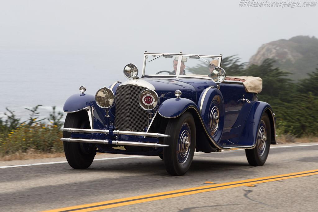 Bentley Speed Six Saoutchik DHC  - Entrant: John & Gwen McCaw  - 2014 Pebble Beach Concours d'Elegance