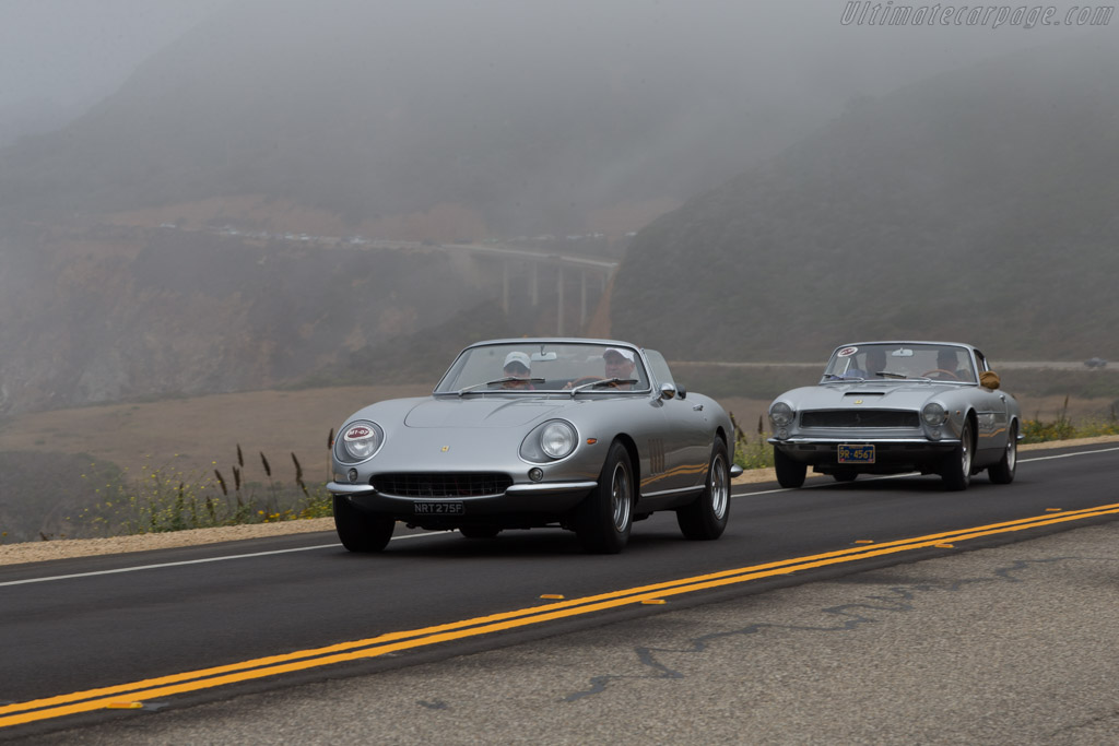 Ferrari 275 GTB/4 Nart Spyder - Chassis: 10749 - Entrant: Dr. Rick & Angie Workman  - 2014 Pebble Beach Concours d'Elegance