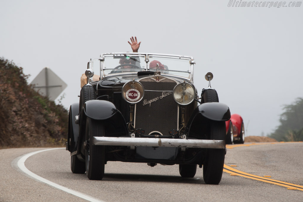 Hispano Suiza H6C d'Ieteren Transformable  - Entrant: Al & Sandi McEwan  - 2014 Pebble Beach Concours d'Elegance