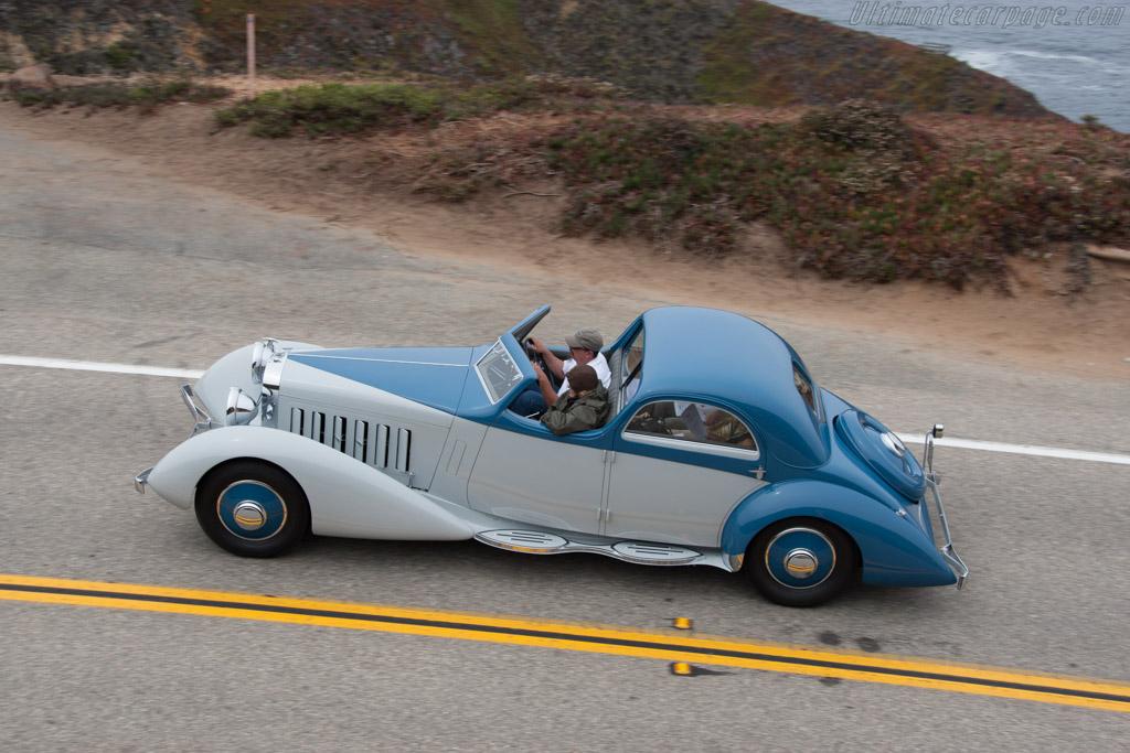 Hispano Suiza K6 Fernandez & Darrin Coupe de Chauffeur  - Entrant: Robert M. & Anne Brockinton Lee  - 2014 Pebble Beach Concours d'Elegance