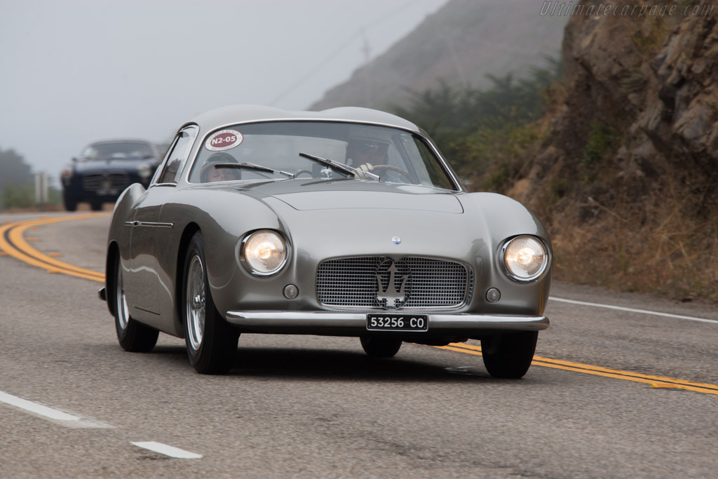 Maserati A6G/54 Zagato Coupe - Chassis: 2155 - Entrant: RQ Collections  - 2014 Pebble Beach Concours d'Elegance