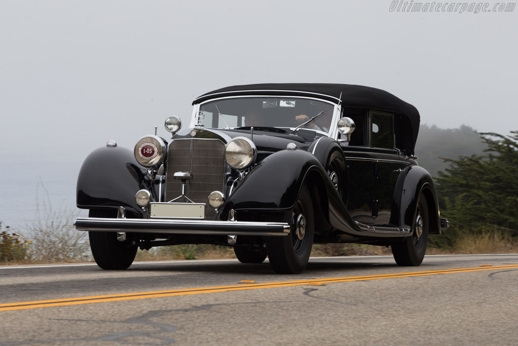 Mercedes-Benz 770K Offener Tourenwagen  - Entrant: The William Lyon Family  - 2014 Pebble Beach Concours d'Elegance